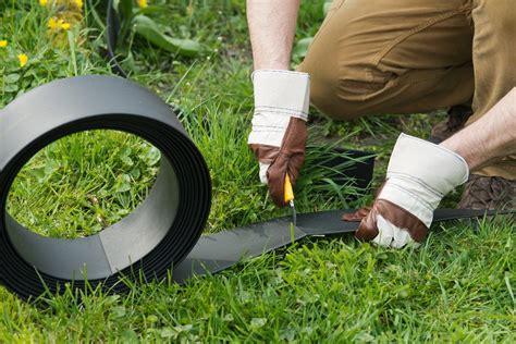 bordure en plastique jardinet