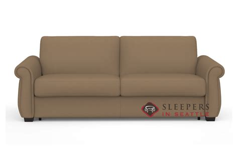 palliser my comfort customize and personalize holiday queen fabric sofa by