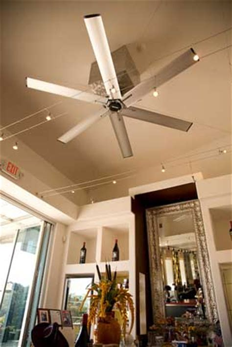 high volume ceiling fans the misting store macro air high volume low speed hvls