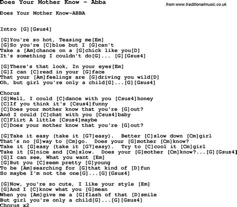 testo sos abba song does your by abba with lyrics for vocal