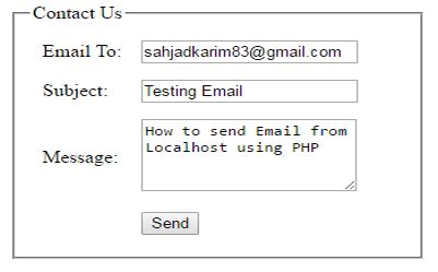 tutorial php send email how to send email from localhost in php msk tutorial
