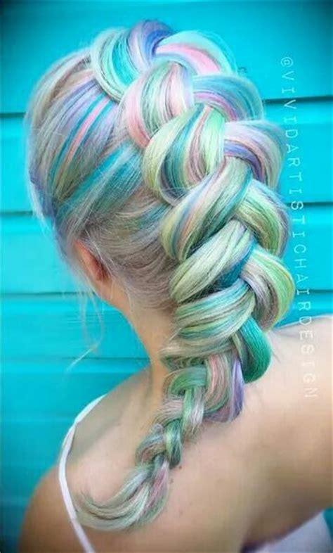 mermaid hair color 25 best ideas about mermaid hair colors on