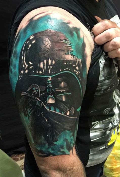 best star wars tattoos top 25 best darth vader ideas on darth