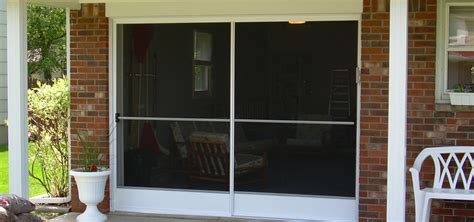Screen Doors For Garage Door Opening Smalltowndjs Com Garage Door Screen Door