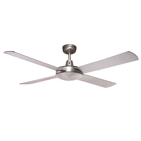B 52 Ceiling by Genesis 52 Brushed Aluminum Ceiling Fan Gen52b