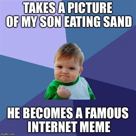 Internet Meme Maker - success kid meme imgflip