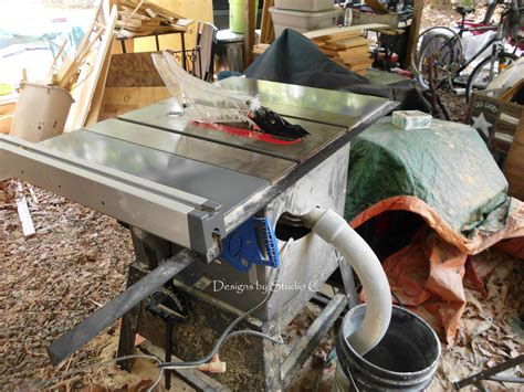 table saw dust collection an inexpensive option for dust collection on the table saw old setup