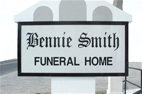 bennie smith funeral homes milford de legacy