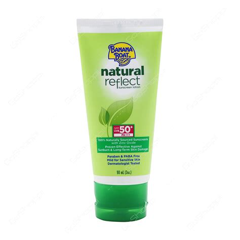 banana boat natural reflect sunscreen buy personal care products online from tesco supermarket