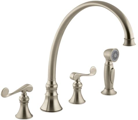 faucet k 16111 4 bv in brushed bronze by kohler