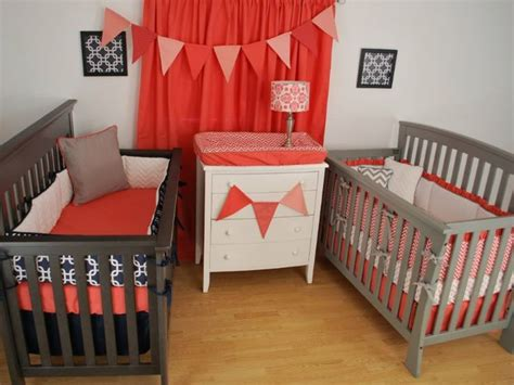 navy and coral crib bedding navy and coral crib bedding for twins twins nursery pinterest