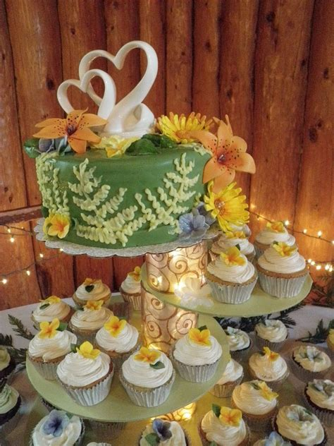 nature themed wedding cake cupcakes cakecentral