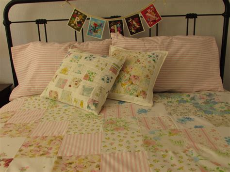 How Do You Do Patchwork - vintage patchwork quilt needle and foot