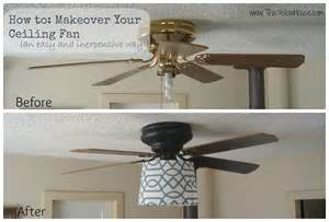 diy ceiling fan diy ceiling fan makeover cafemom
