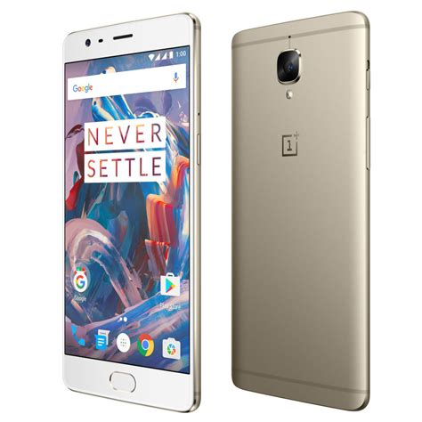 one three oneplus 3 soft gold version coming in late july