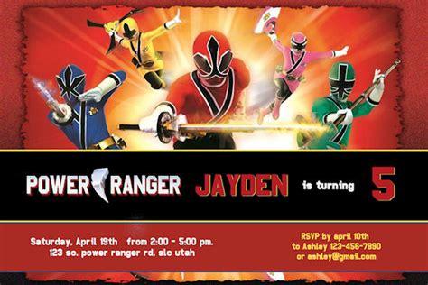 printable birthday invitations power rangers power ranger birthday party invitations dolanpedia