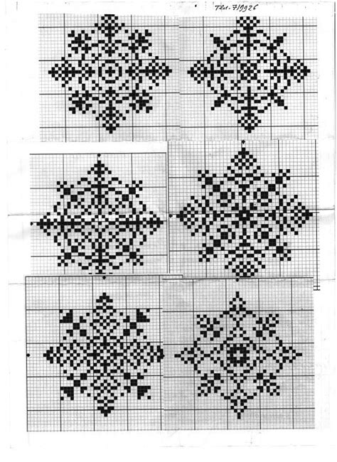 snowflake graph pattern snowflakes charts and patterns on pinterest