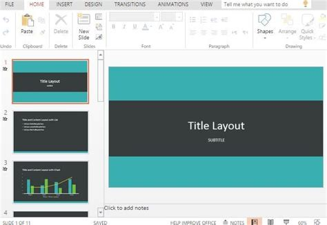 powerpoint quotable design theme teal banded powerpoint template