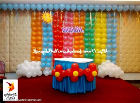 1st birthday decoration at home 1st birthday party decoration ideas at home
