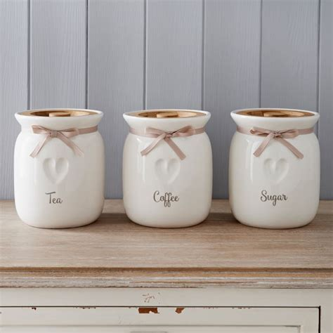 kitchen canisters  wooden lid heart kitchen