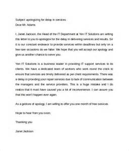 Business Apology Letter Pdf Letter Of Apology 9 Download Free Documents In Word Pdf