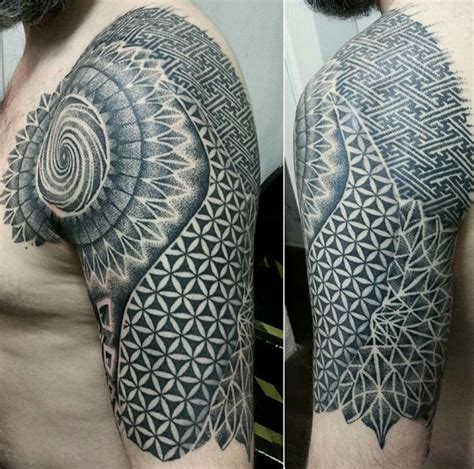 intricate tattoos mandala shoulder www pixshark images
