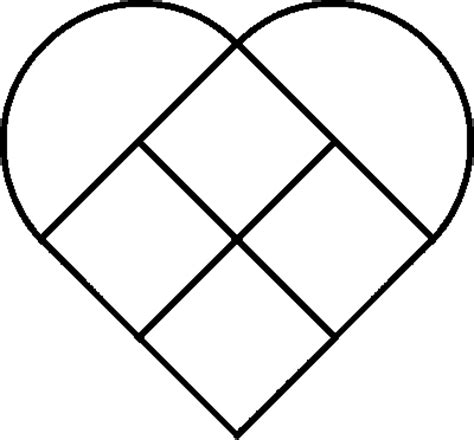 Printable Patchwork Templates Free - coloring now 187 archive 187 coloring pages of hearts