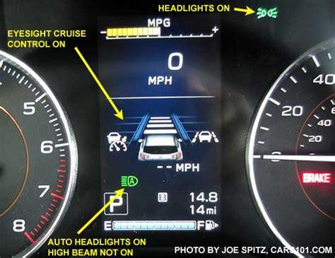 tire pressure monitoring 1989 subaru justy instrument cluster 2018 subaru crosstrek interior photos
