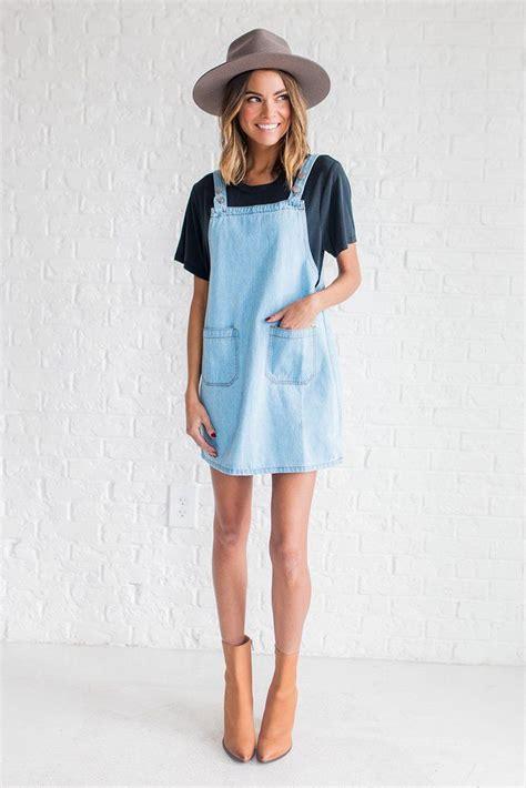 Jumper Denim Dress denim jumper dress oasis fashion