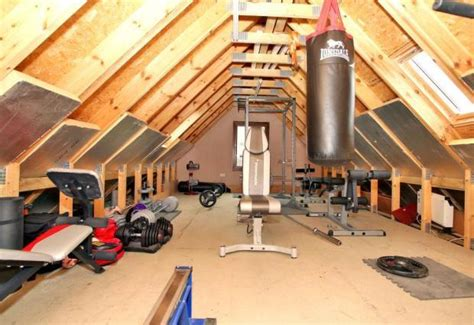 Converting your loft into a home gym