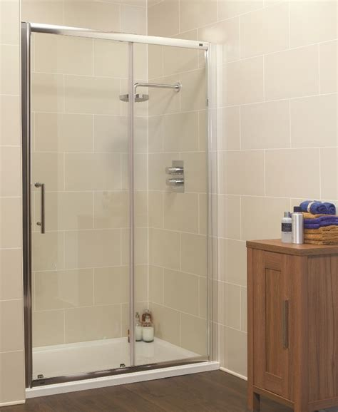 1100 Shower Door Kyra Range 1100mm Sliding Shower Enclosure