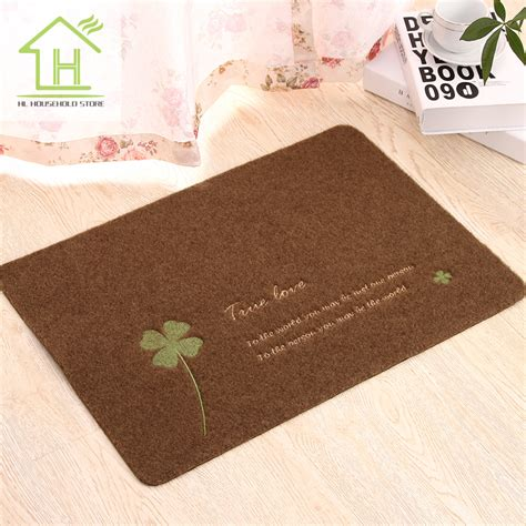 area rugs for kitchen floor aliexpress buy 4 color four leaf clover modern kitchen area rugs and carpets for home