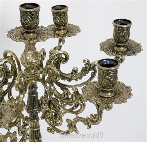kerzenhalter 7 armig kerzenleuchter 7 armig leuchter metall antik barock