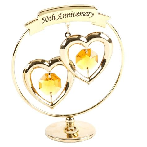 50th Wedding Anniversary Gift by 50th Golden Wedding Anniversary Gift With