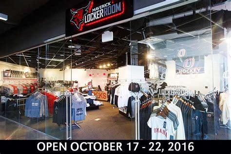 locker room store baxter arena team store open week of october 17 news of nebraska omaha