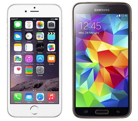 iphone themes for samsung galaxy y comparativa iphone 6 vs samsung galaxy s5 tusequipos com