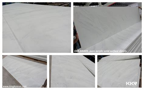 6mm corian 6mm 12mm glacier white corian dupont acrylic marble