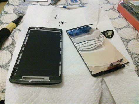 Hair Dryer Assembly Process i dropped my lgg3 and cracked the screen here s what i