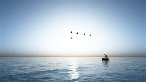 sea boat sea and boat by hythamkalefe on deviantart