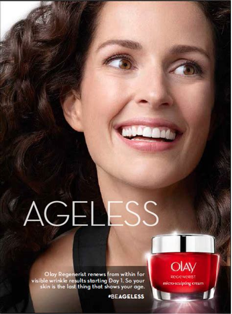 the woman in the olay commercials olay commits to ushering in ageless era business wire
