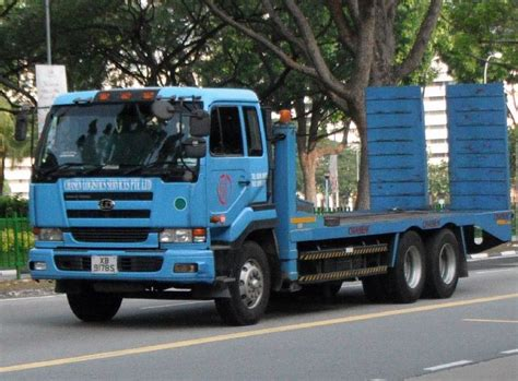 truck nissan diesel truck photos chasen logistics services pte ltd nissan