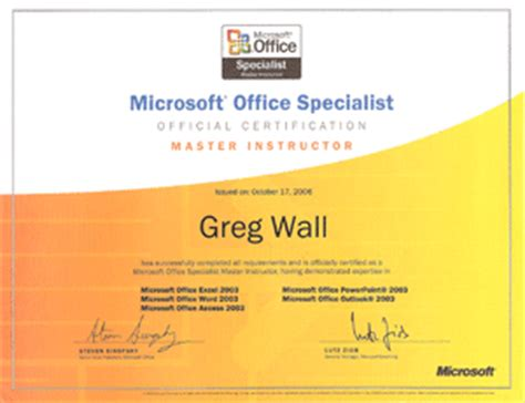 Ms Office Certification by Computer Courses And Computer Microsoft Office