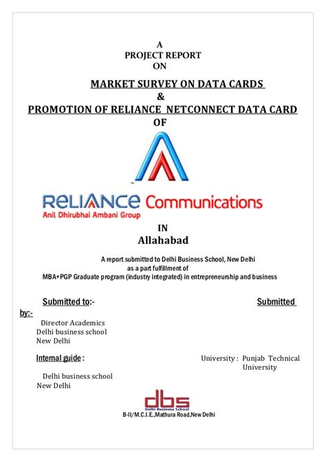 Template Distribution Agreement market survey on data cards and promotion of reliance net