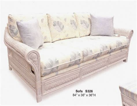 rattan sleeper sofa wicker sofas sleepers