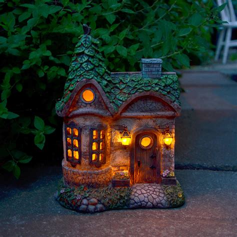 Solar Powered Led Garden Ornaments Patio Outdoor Feature Light Ornaments With Lights