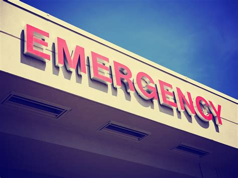 Emergency Alcoholic Detox San Jose by Traits Of Who Go To The Emergency Room Because Of