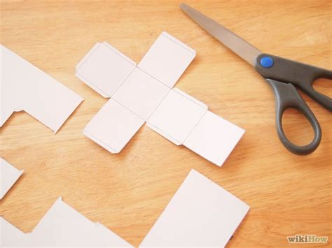 How To Make A 3d Cube Out Of Paper - how to make a 3d cube 9 steps with pictures wikihow