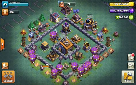 download game coc mod flame wall clash of null s builderbase coc mod apk v9 105 9