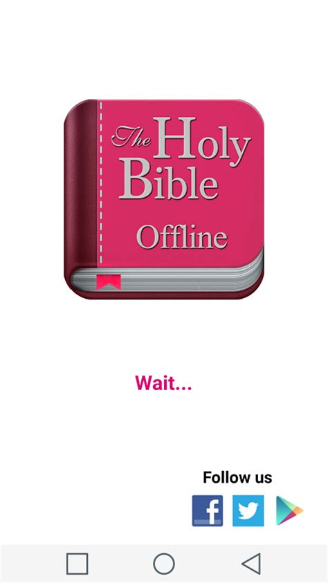 holy bible app for android holy bible for offline android apps on play