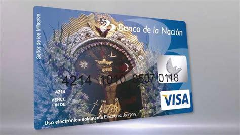 banco de la nacin per banco de la nacion tarjeta de debito youtube